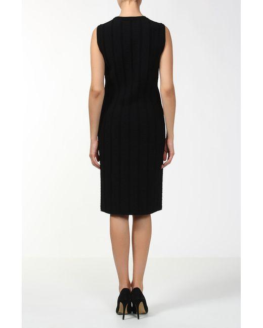 Платье Alaïa                                                                                                              чёрный цвет