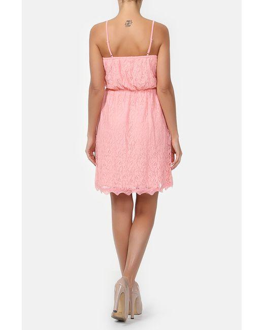 Платье Fox                                                                                                              розовый цвет