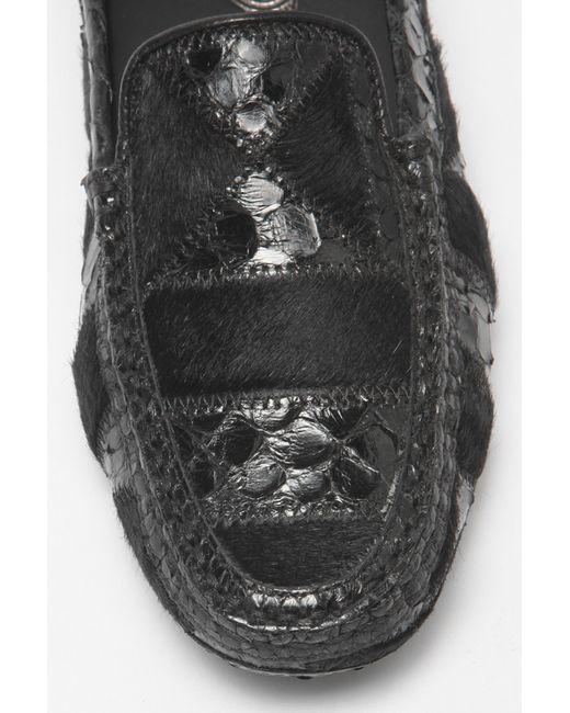 Мокасины Tod'S                                                                                                              чёрный цвет