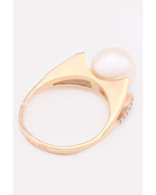 Кольцо DE FLEUR                                                                                                              белый цвет
