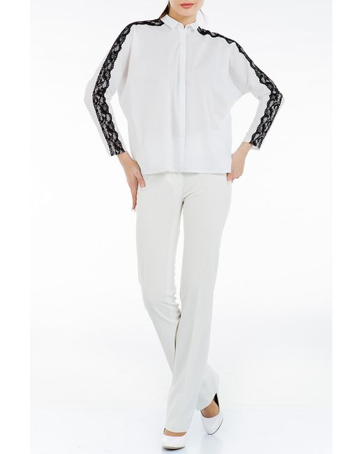 Блузка Levall                                                                                                              белый цвет