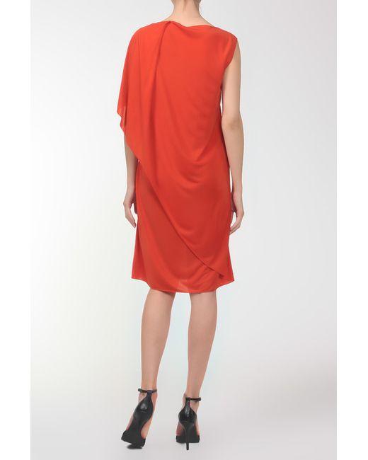 Платье Bottega Veneta                                                                                                              оранжевый цвет
