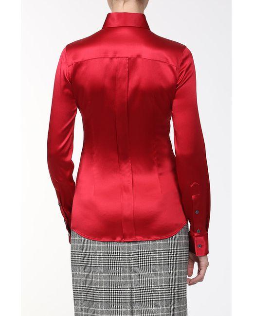 Сорочка Dolce & Gabbana                                                                                                              красный цвет