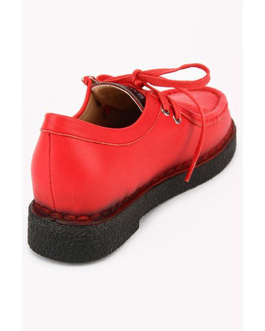 Полуботинки Zumita                                                                                                              красный цвет