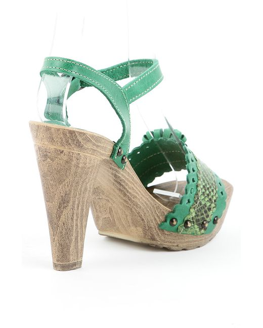 Туфли Sk                                                                                                              зелёный цвет