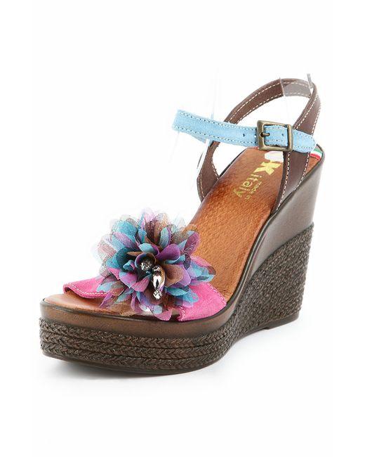 Туфли Sk                                                                                                              голубой цвет