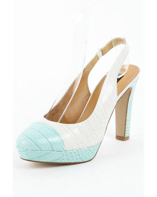 Туфли Zinda                                                                                                              голубой цвет