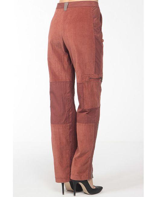 Брюки Fille des Sables                                                                                                              коричневый цвет
