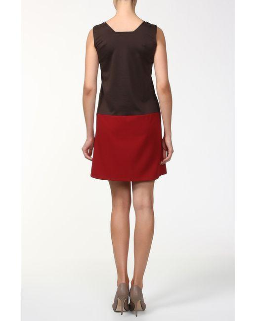 Платье BERTEN                                                                                                              коричневый цвет