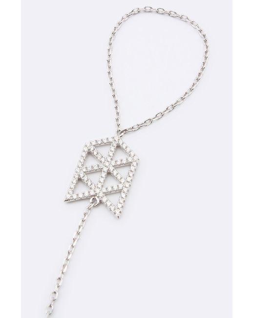 Браслет-Кольцо Art Silver                                                                                                              Серебряный цвет