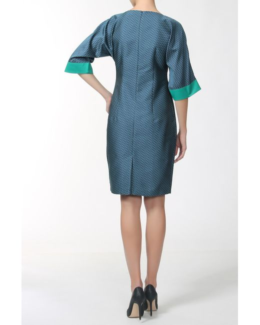 Платье MAYAMODA                                                                                                              синий цвет