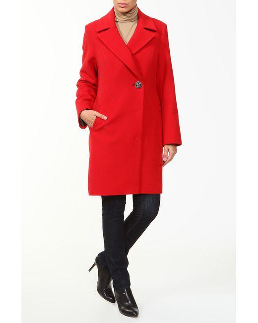 Пальто Амулет                                                                                                              красный цвет