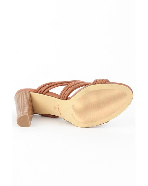 Сабо Mascotte                                                                                                              коричневый цвет