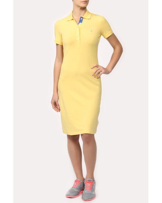Платье Nautica                                                                                                              желтый цвет