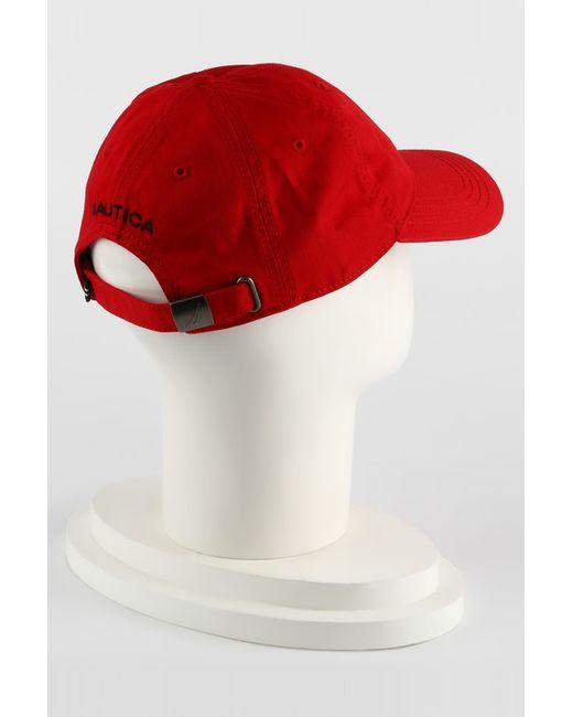 Кепка Nautica                                                                                                              красный цвет