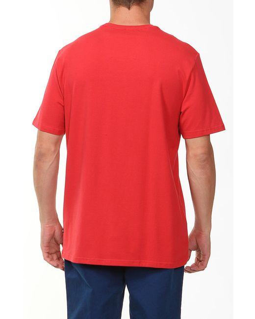 Футболка Nautica                                                                                                              красный цвет