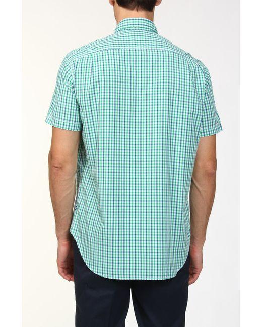 Рубашка Nautica                                                                                                              зелёный цвет