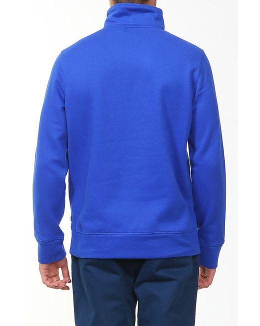 Толстовка Nautica                                                                                                              синий цвет