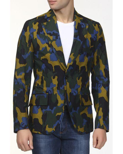 Пиджак Italia Independent                                                                                                              зелёный цвет