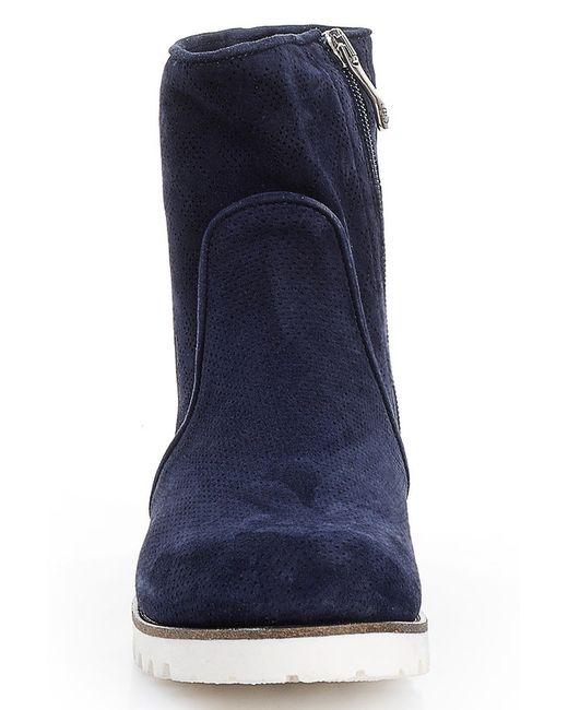 Ботинки Giorgio Piergentili                                                                                                              синий цвет