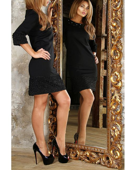 Платье Bezko                                                                                                              чёрный цвет