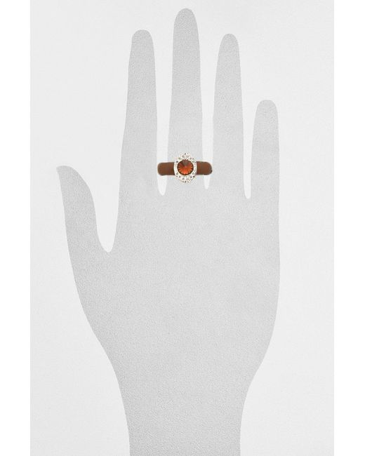Кольцо NAVELL                                                                                                              коричневый цвет