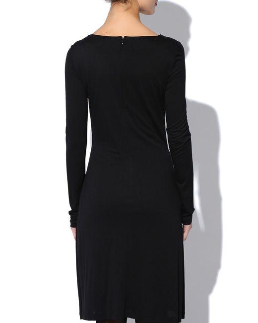Платье Versace Collection                                                                                                              чёрный цвет