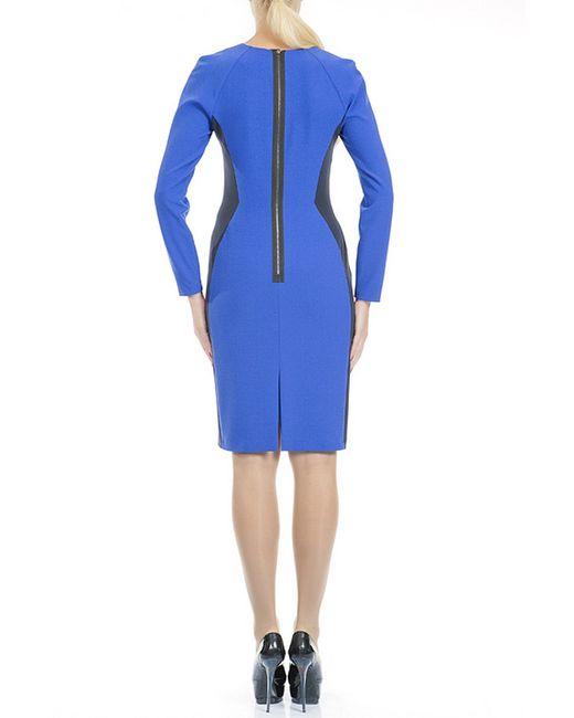 Платье Levall                                                                                                              синий цвет
