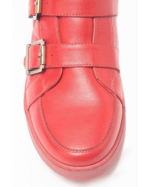 Ботинки Piranha                                                                                                              красный цвет