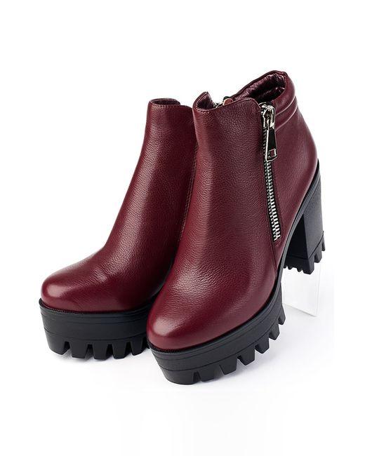 Ботинки Grand Style                                                                                                              красный цвет
