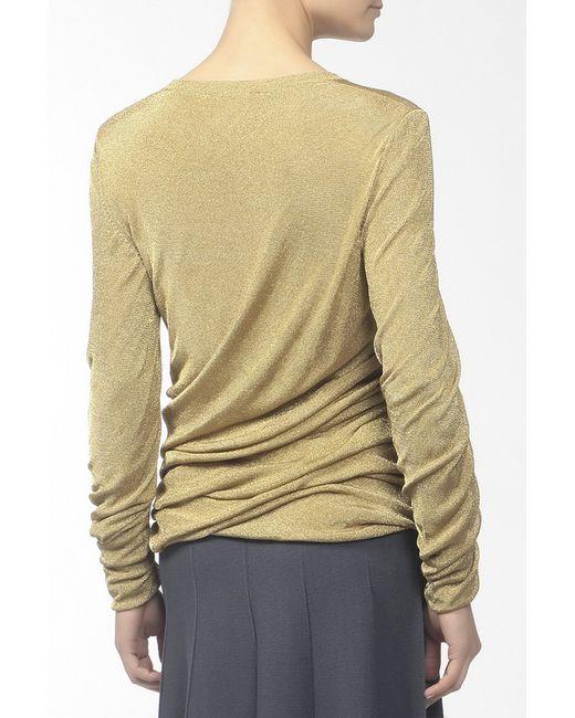 Пуловер Вязаный Michael Kors                                                                                                              золотой цвет