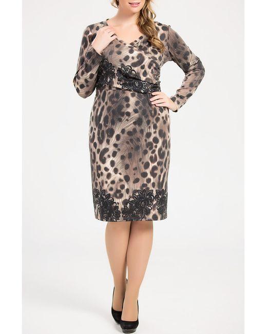 Платье Remix                                                                                                              коричневый цвет