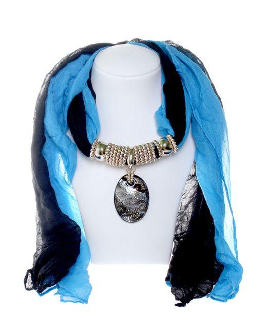 Платок Migura                                                                                                              голубой цвет