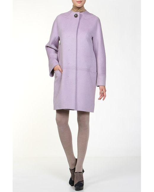 Пальто Анора                                                                                                              фиолетовый цвет
