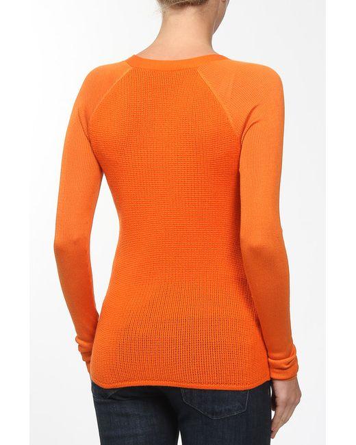 Кардиган Вязаный Reed Krakoff                                                                                                              оранжевый цвет