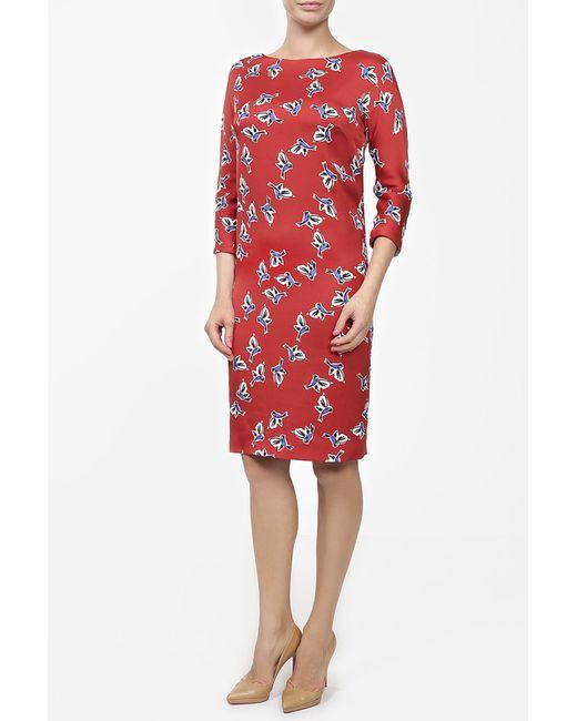 Платье Alexander Terekhov                                                                                                              красный цвет
