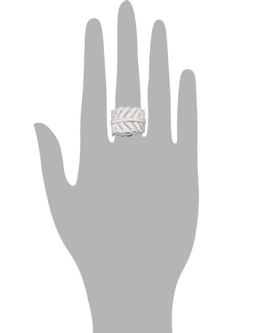 Кольцо GOOD WAY                                                                                                              белый цвет