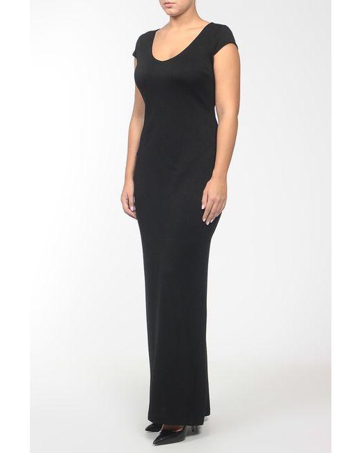 Платье St. John                                                                                                              чёрный цвет