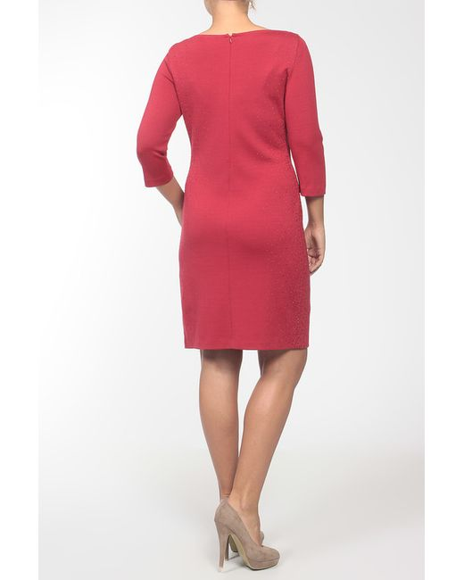 Платье St. John                                                                                                              красный цвет