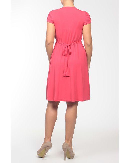 Платье Джерси Pietro Brunelli                                                                                                              красный цвет