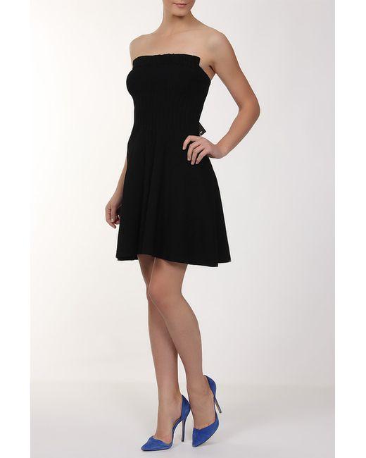 Платье D.exterior                                                                                                              чёрный цвет