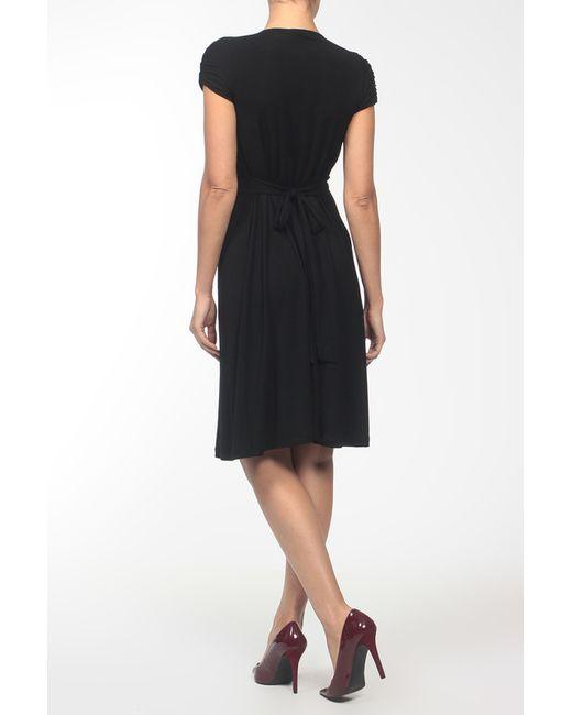 Платье Джерси Pietro Brunelli                                                                                                              чёрный цвет