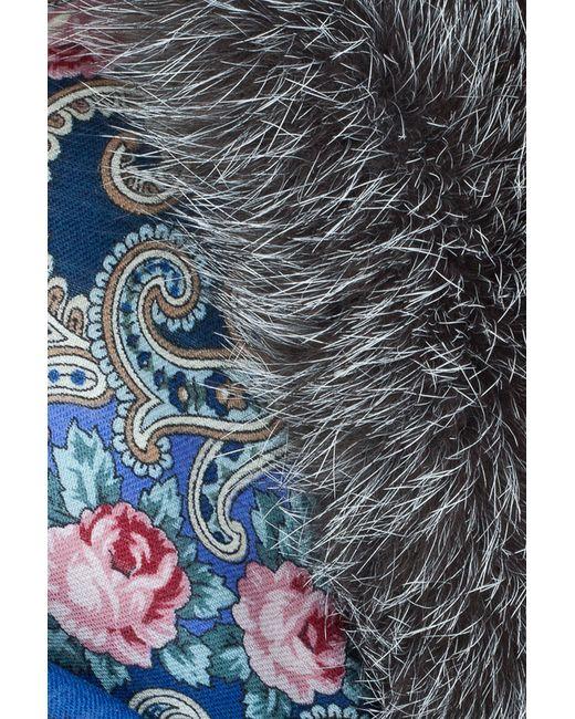 Платок Алеся Семь Зим                                                                                                              многоцветный цвет