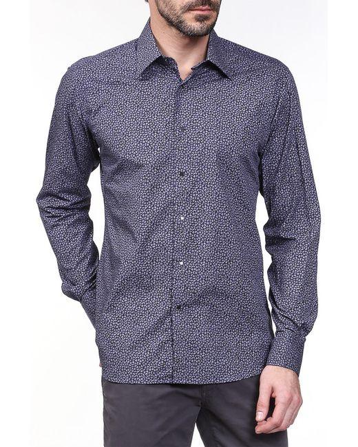 Рубашка Karl Lagerfeld                                                                                                              фиолетовый цвет