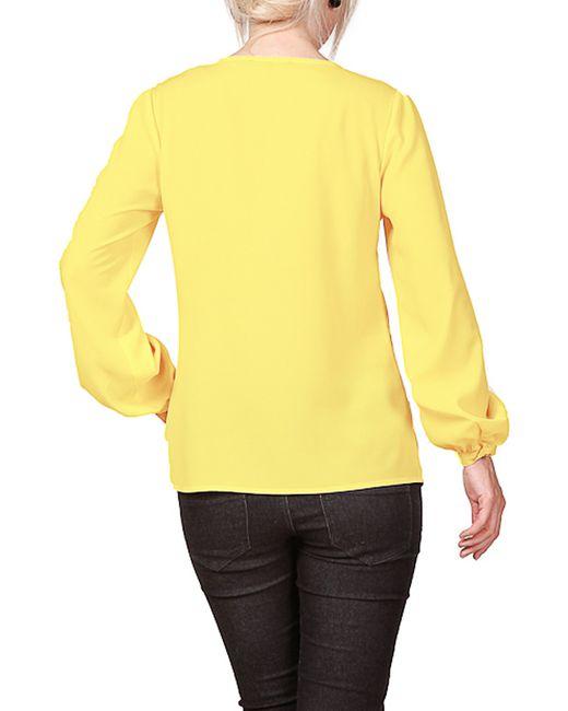 Блуза Rosso-Style                                                                                                              желтый цвет