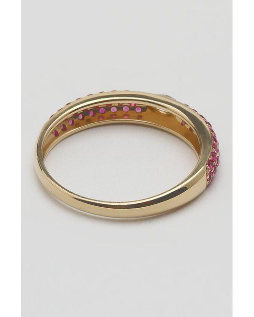 Кольцо AARON SHUM                                                                                                              золотой цвет