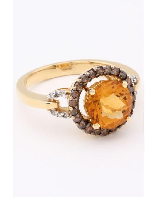 Кольцо WILLIAM LAM                                                                                                              золотой цвет