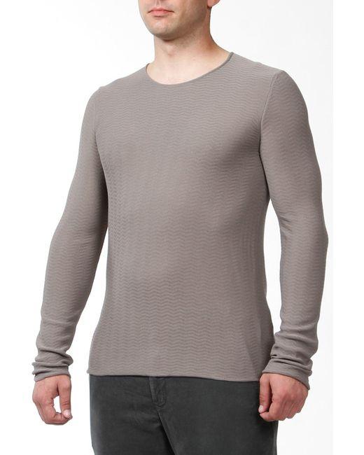 Пуловер Giorgio Armani                                                                                                              серый цвет