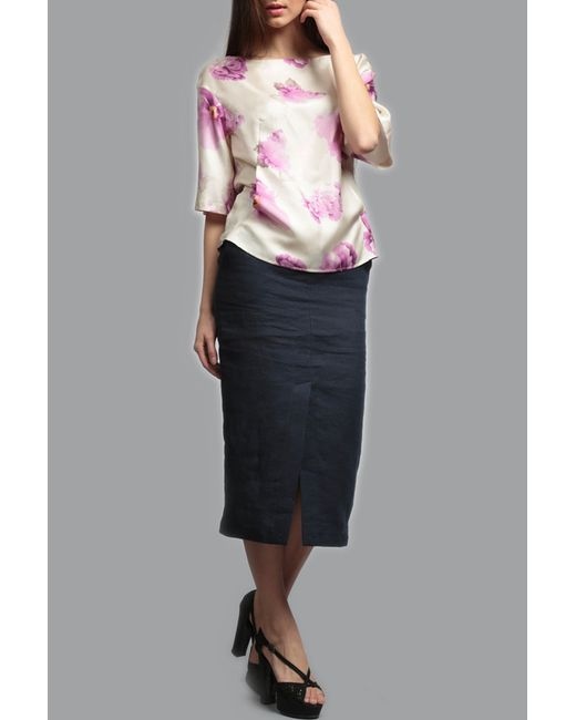 Блузка ЭНСО                                                                                                              многоцветный цвет