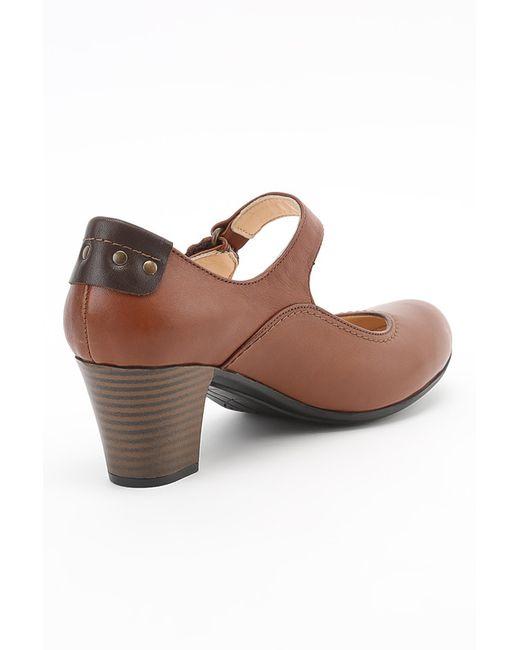 Туфли Benta                                                                                                              оранжевый цвет